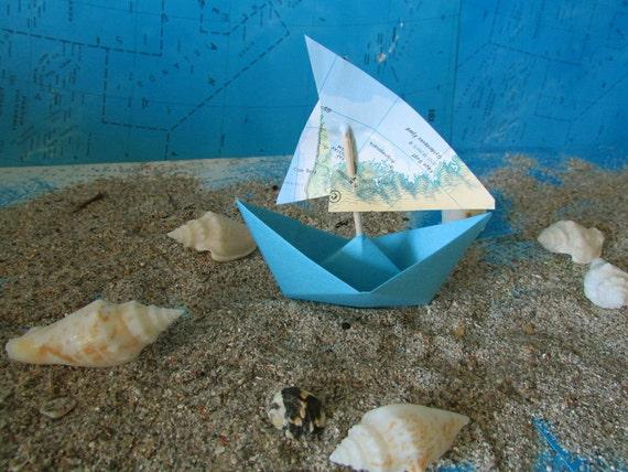 Papier Bateau Origami Decoration Photo Prop Art Offre Beaucoup Etsy