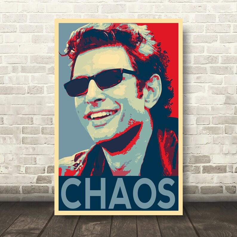 Jeff Ian MalcolmEtsy Jurassic Goldblum Park Chaos Illustration T15KF3ulJc
