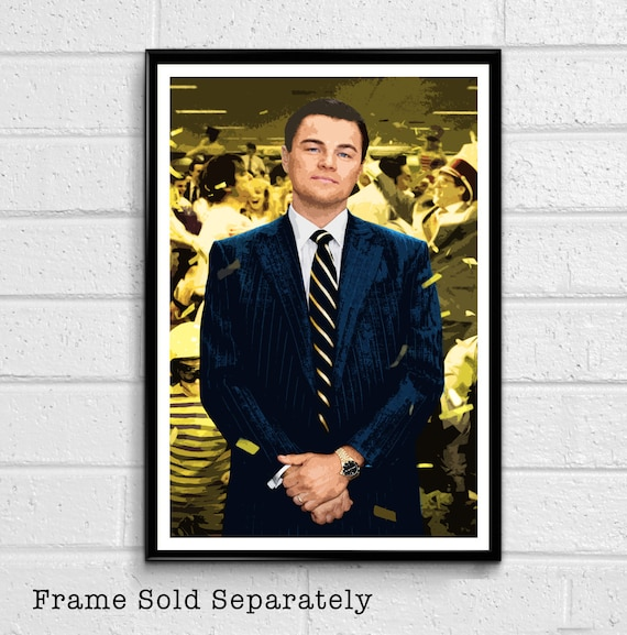 The Wolf Of Wall Street Classic Movie Large Poster Art Print Maxi A0 A1 A2 A3 A4