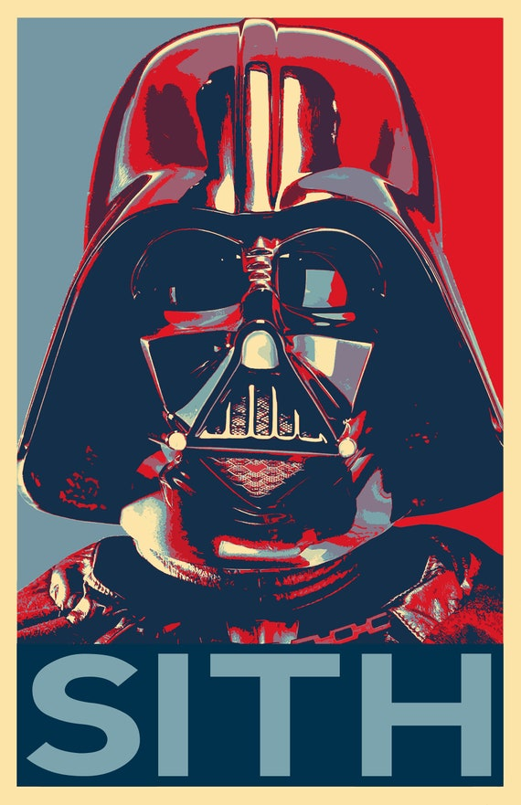 Star Wars Comic Book Illustration Movie Poster Canvas Wall Art Film Print Sc-Fi