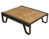 Vintage Industrial Pallet Coffee Table