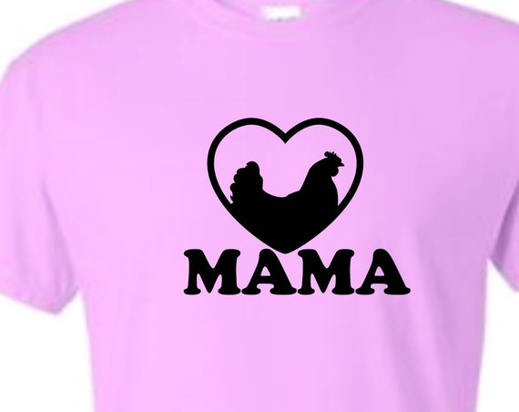 Chicken Mama shirt, funny shirt, LOL shirt, popular shirt, trending top, Rockin it with your chickens