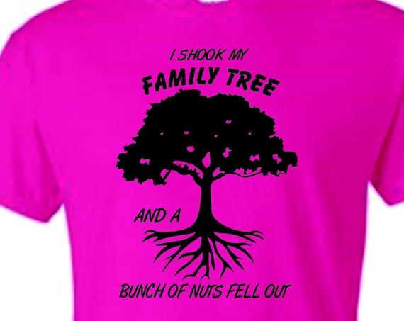 I shook my family tree shirt, Reunion shirt, family reunion shirt, family shirt, Mothers day shirt, fathers day shirt, birthday shirt,