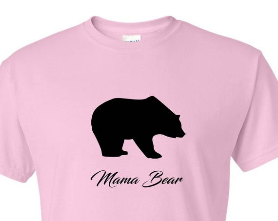 Gift for Mom Mama Bear T-shirt  funny t-shirt, Gift for mothers day, Christmas gift for Mom, Birthday gift for mom, t shirt with saying