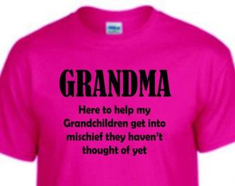a0787ae0 Grandma Tee shirt, funny shirt, trending top, popular trend, gift for Mom  or grandma, unisex shirt, funny shirt,