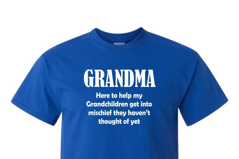 211b142a Grandma Tee shirt funny shirt trending top popular trend | Etsy