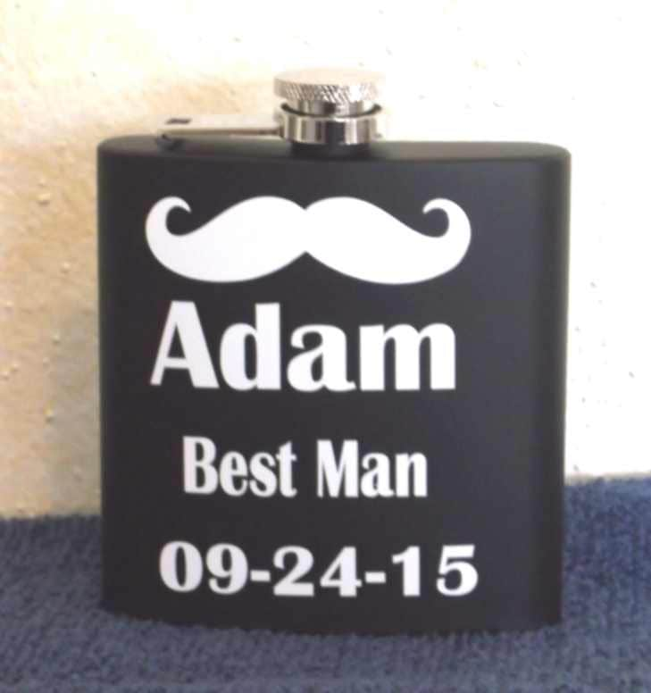 wedding party flasks, bachelor party flasks, bachelor party gift