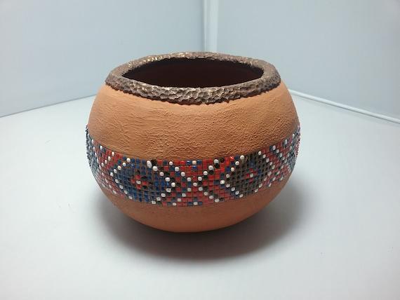 Carved gourd, carved basket weave, carved basket, decorative basket, decorative gourd, pretty gourd, handmade basket,