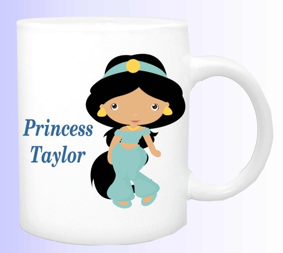 princess cup #2, name of your princess mug, personalize a mug with the name of your child, customized mug to your needs, special mug for kid