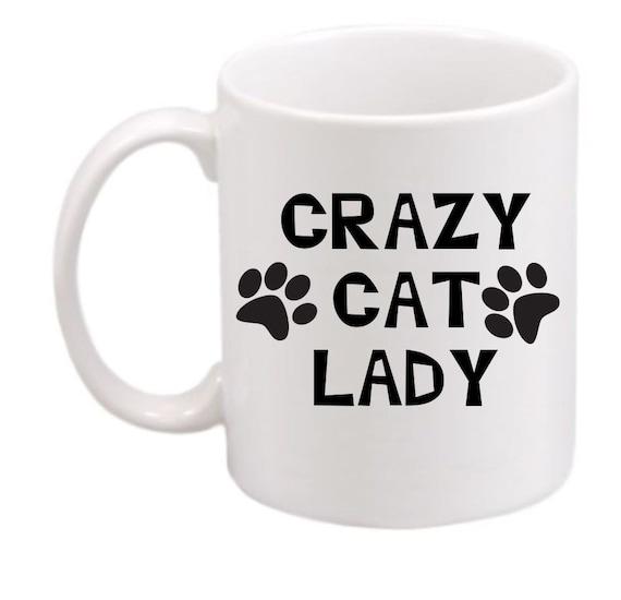 Crazy Cat Lady #211, Crazy Cat Lady coffee mug, Crazy Cat Lady coffee cup, Crazy Cat Lady gift, cat  lovers gift, customized mug