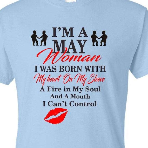 I'm a May Gemini birthday Woman shirt, May birthday shirt, Born in May shirt, Funny birthday shirt, LOL birthday shirt