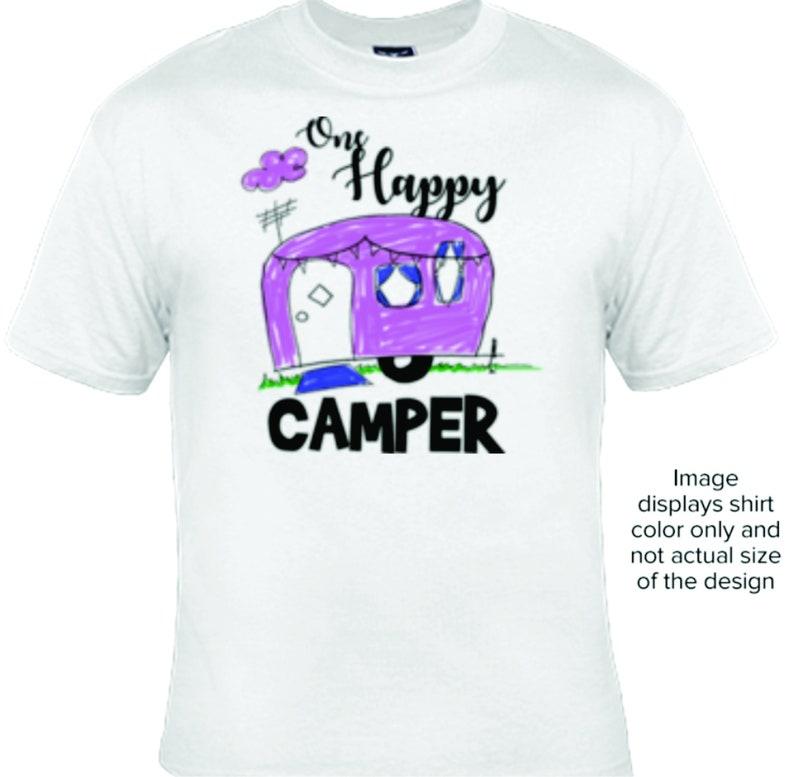 I/'d Rather Be Camping T-shirt Funny Hilarious Camper Camp Tee Shirt