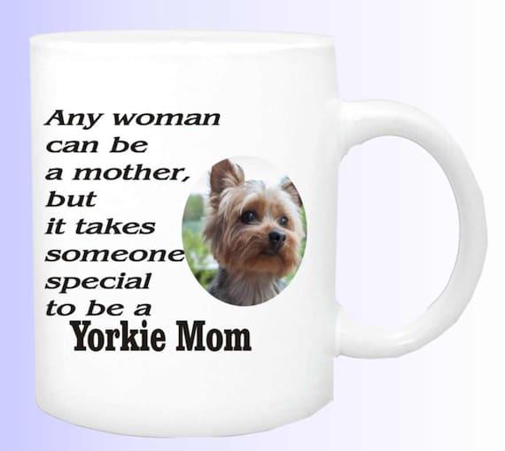 Yorkie Mom Coffee mug #153, yorkie coffee cup, Yorkie lover gift,  Yorkie parents gift, dog lover gift, dog coffee mug, dog lover gift