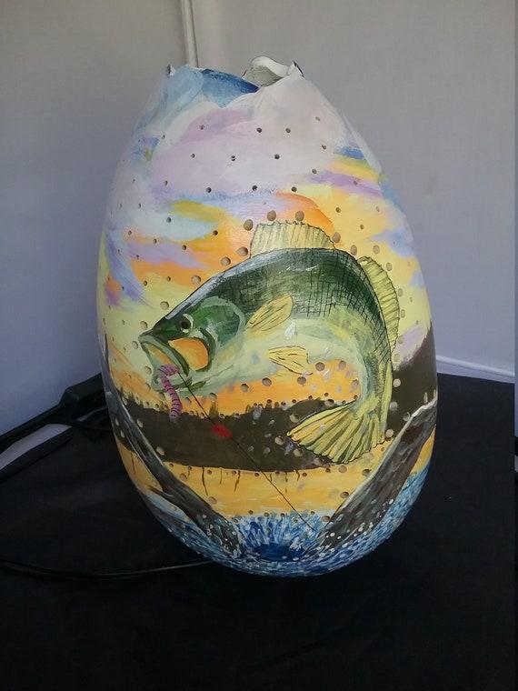 Gourd lamp, fishing lamp, sportsman lamp, decorative lamp, LED fishing lamp