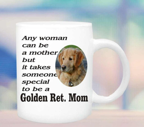 Golden Retriever mom #151, Golden Retriever coffee mug, Golden Retriever coffee cup, Golden Retriever gift, dog lovers gift, customized mug