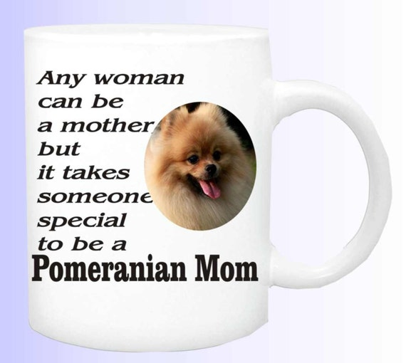 Pomeranian Mom coffee mug #152, Pom lovers mug, pom dog coffee cup, dog lovers cup, pomeranian lover gift,  pomeranian dog cup, pomeranian