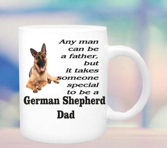 German shepherd Dad mug #148, Special person german shephard dad coffee cup, coffee mug, dog lover coffee mug, funny coffee cup