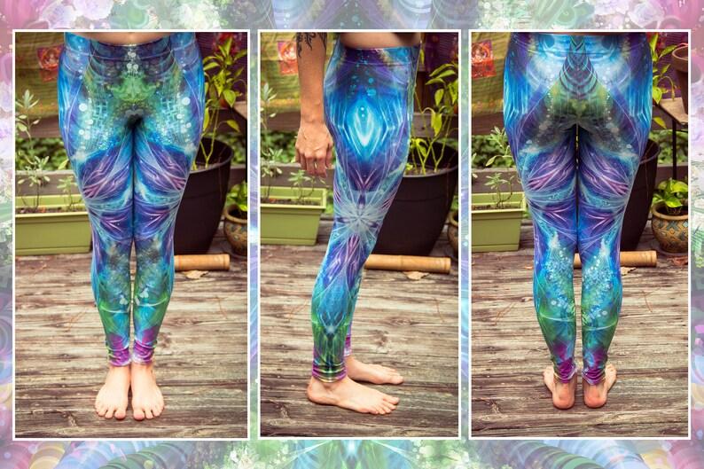 Lemurian Portal Leggings image 0