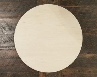 "1/2"" Plywood Craft Round Blanks"