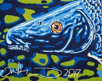 NANFA 2017 Blue Sucker poster FREE SHIPPING