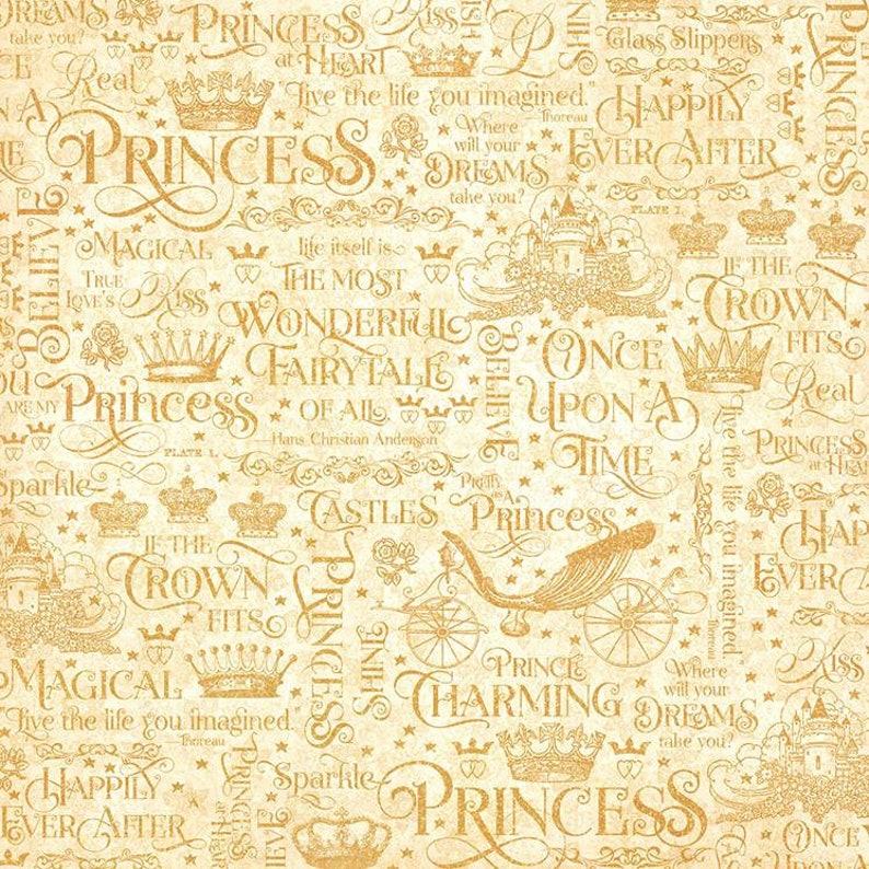 Graphic 45 Princess - If the Crown Fits 12x12 Paper