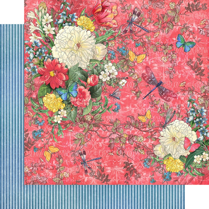 Graphic 45 Flutter Collection 12 x 12 Collection Pack 4501776