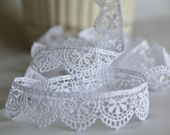 Vintage Style Lace Trim for Scrapbooking, Card Making, Home Decor, Mini Albums, Sewing, Journals