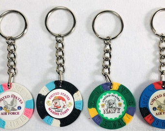 Die Keychain Casino Keychain Dice Keychain #2123
