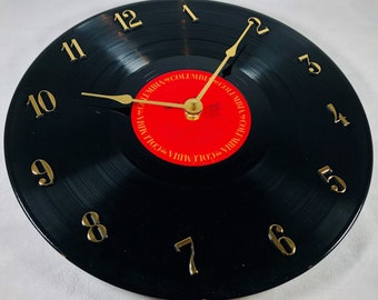 JAMES TAYLOR - Record Clock - JT - Upcycled