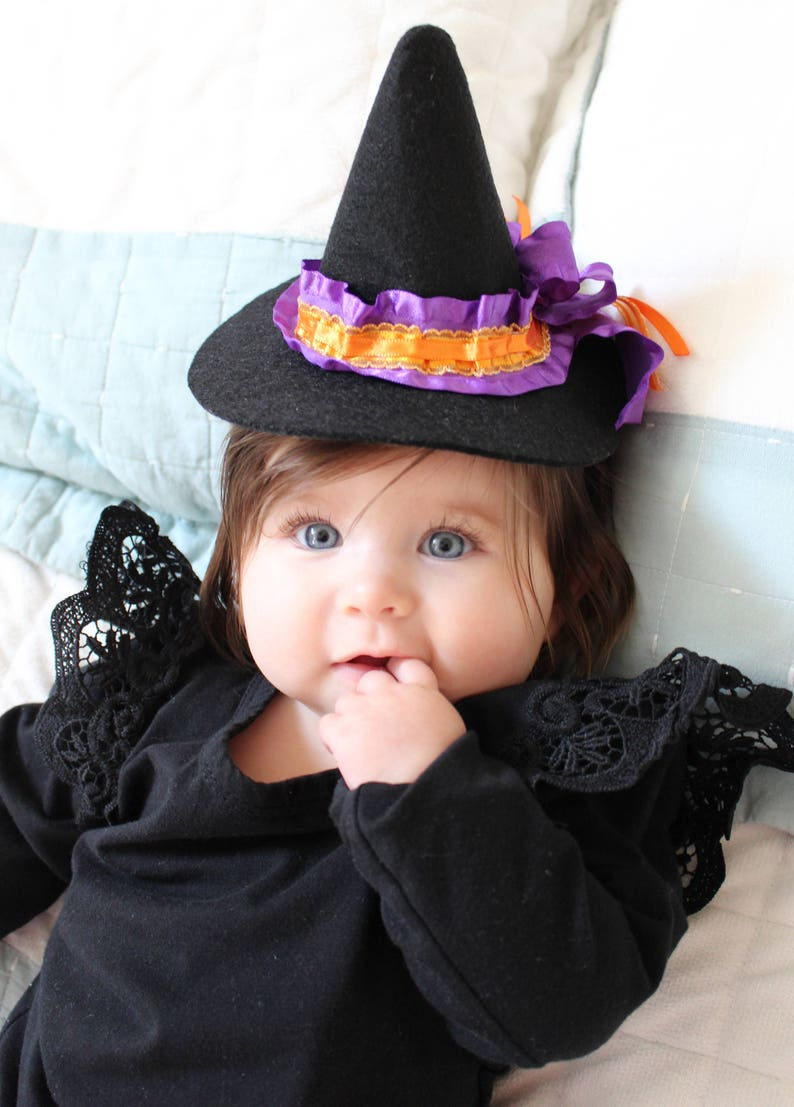 Mini Witch Hat Infant Witch Hat Halloween Witch Hat Adult image 0