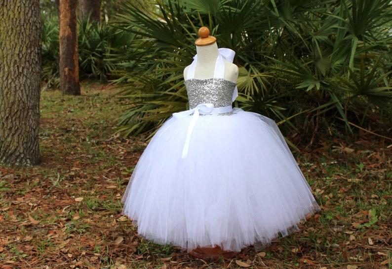 2444c90be Vestido Tutu de lentejuelas Tutu vestido vestido de niña de