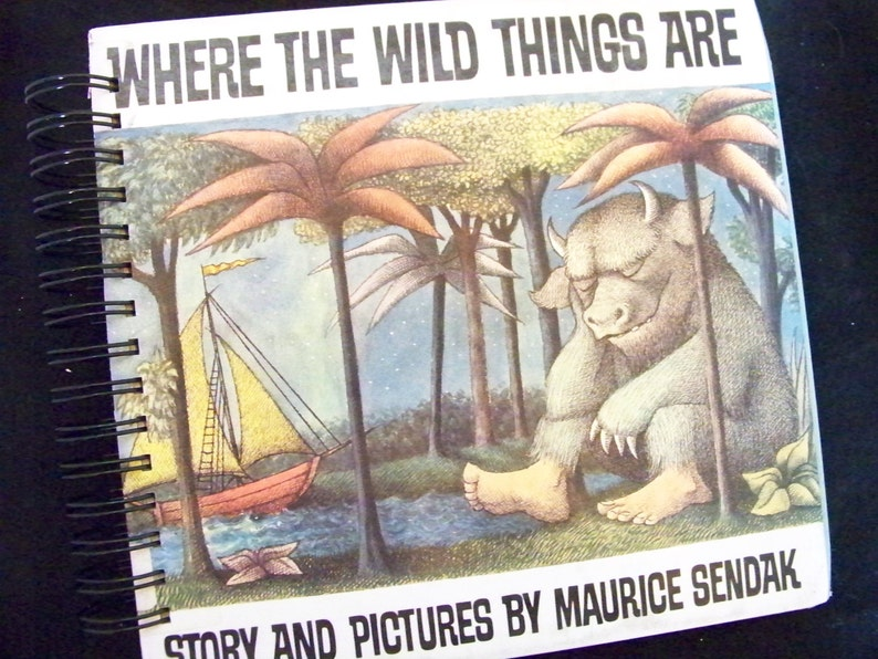 Where the Wild Things Are blank book journal diary image 0