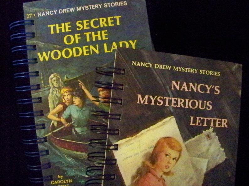 Nancy Drew classics book journals diary planner notebook image 0