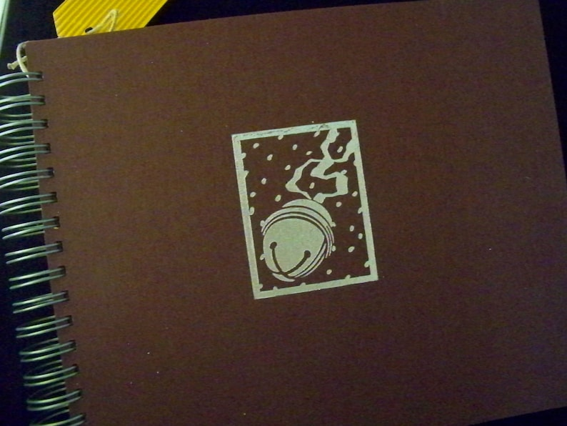 Polar Express scrapbook journal smashbook image 0