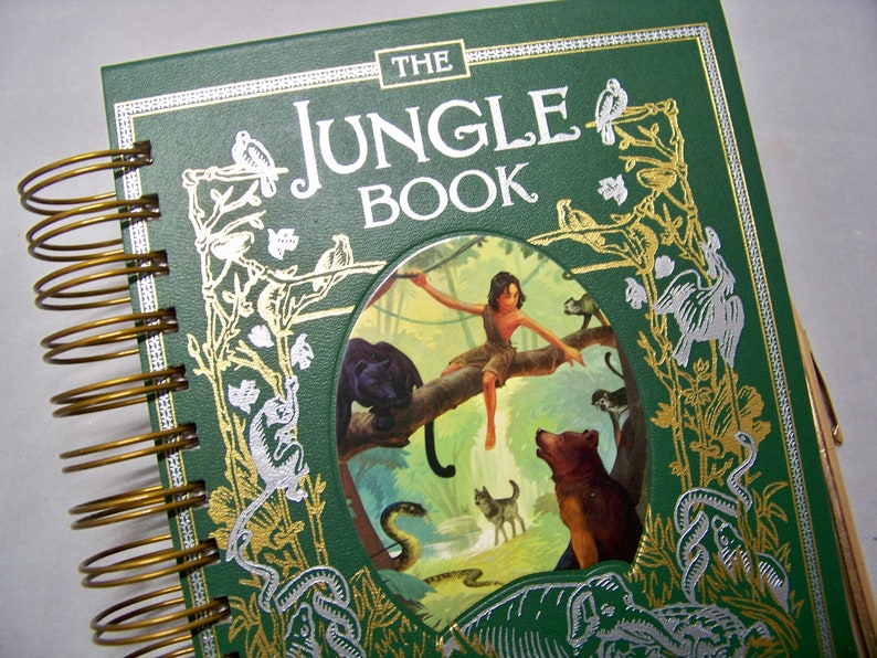 Jungle Book journal planner diary notebook blank Rudyard image 0