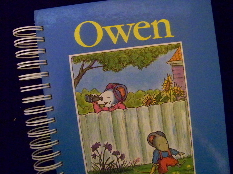 Owen blank book journal diary planner altered book notebook image 0