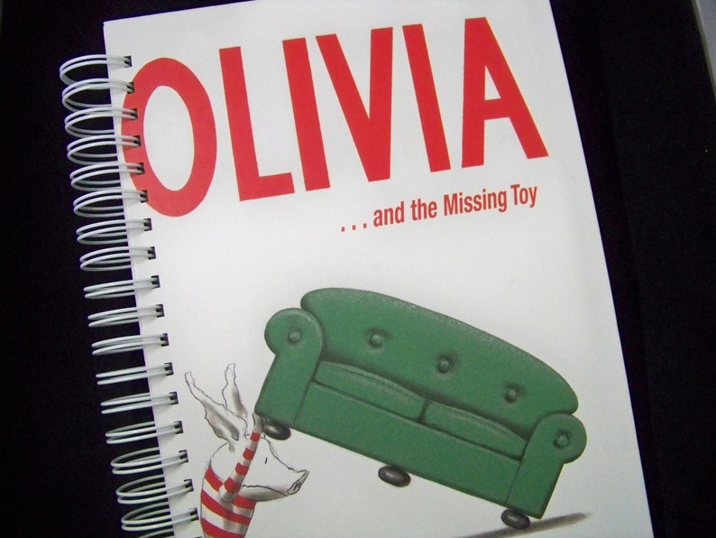 Olivia and Missing Toy blank book journal diary planner image 0