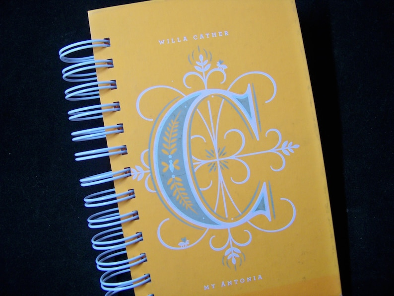 Willa Cather My Antonia blank book journal diary planner image 0