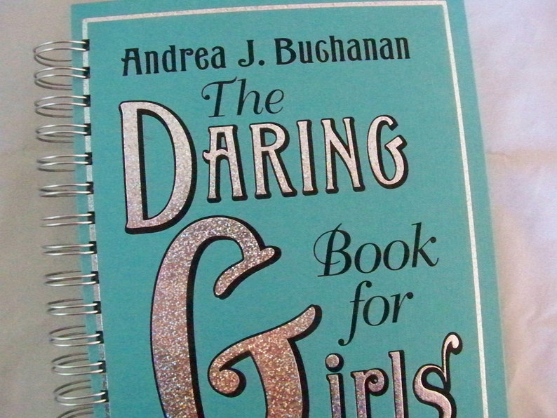 Daring Book for Girls blank book journal diary planner altered image 0