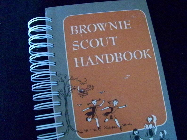 Brownie Scout Handbook journal diary planner image 0