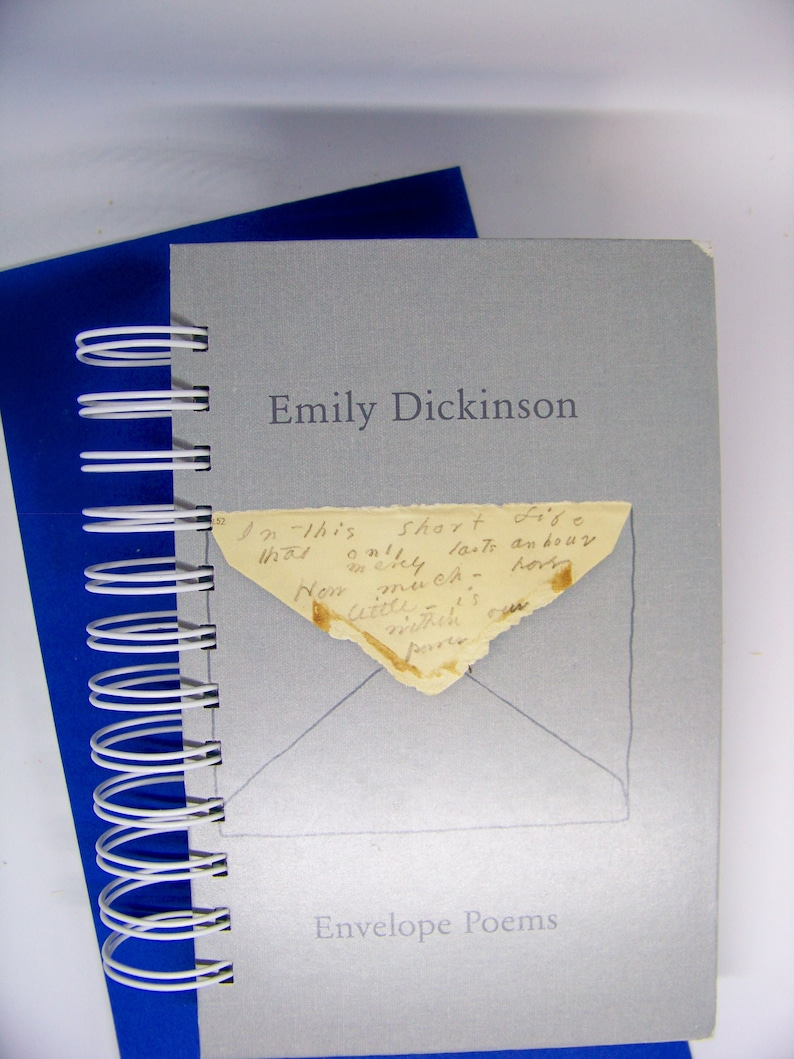 Emily Dickinson Envelope Poems blank book journal diary image 0