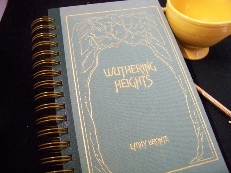 Wuthering Heights Emily Bronte blank book journal diary image 0