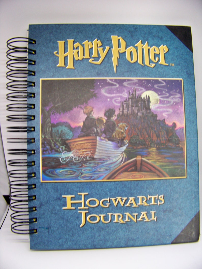 Harry Potter book journal blank diary planner altered book image 0