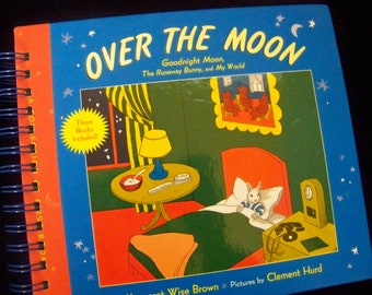 Goodnight Moon author blank book journal altered book planner children's classic book