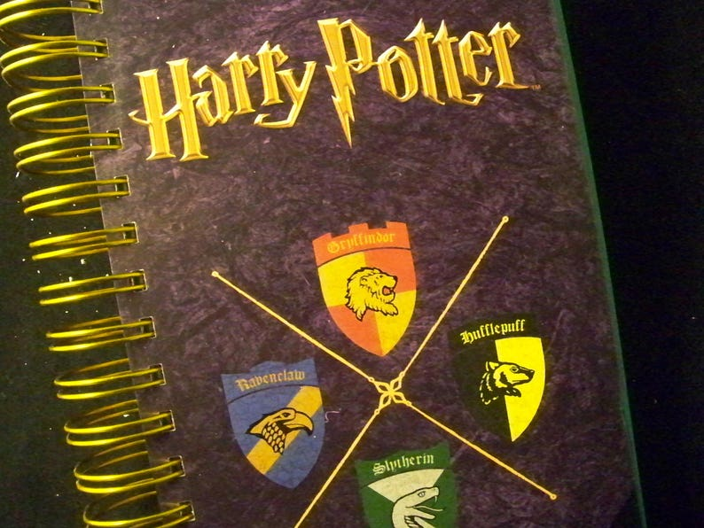 Harry Potter blank book journal diary planner altered book image 0
