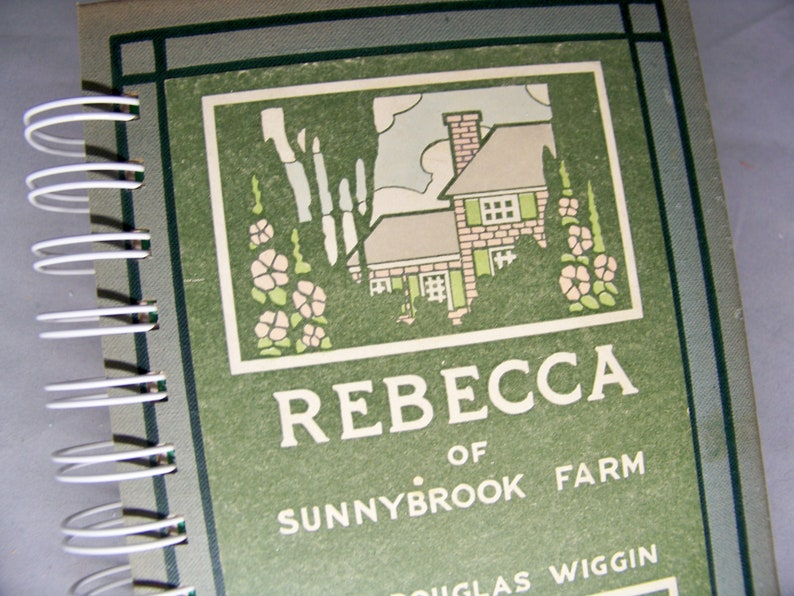 Rebecca of Sunnybrook Farm blank journal diary planner image 0