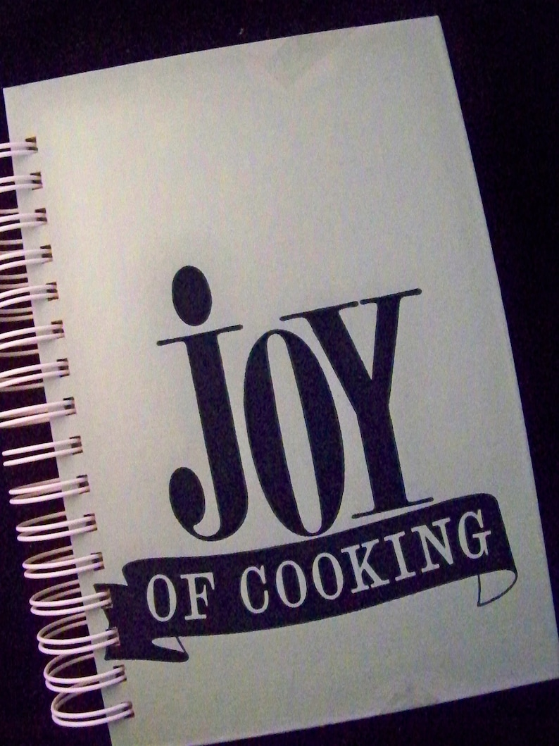Joy of Cooking blank book diary journal planner notebook image 0