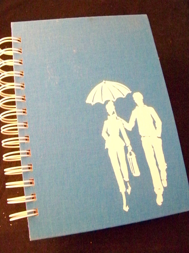 Kate Spade book journal on manners diary altered book planner image 0