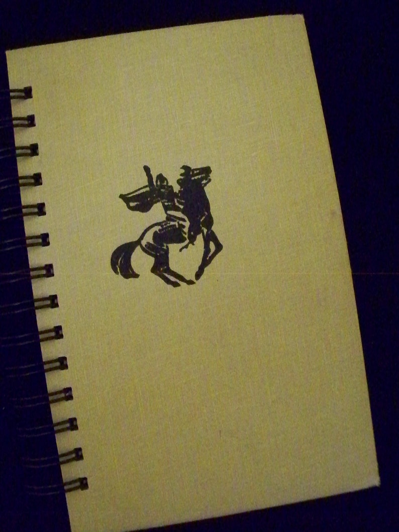 Black Stallion book journal diary planner notebook altered image 0