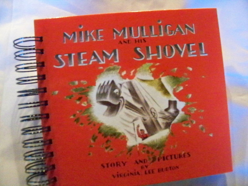 Mike Mulligan and His Steam Shovel blank book diary journal image 0